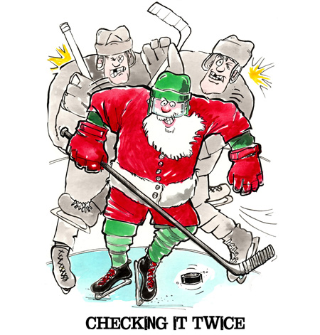 Hockey Christmas Cards: Play Strong® Sports Powercards ...