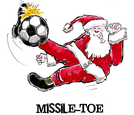 Soccer Christmas Cards: Play Strong® Sports Powercards ...